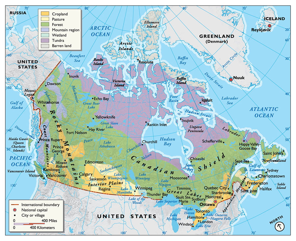 map of canada by map hero inc